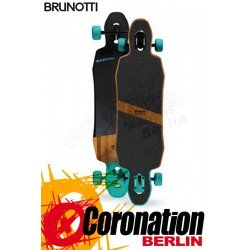 Brunotti Bamboostick Longboard schwarz