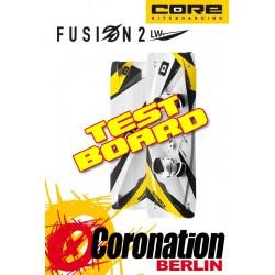 Core Fusion 2 Leichtwind TEST-Kiteboard - 152cm