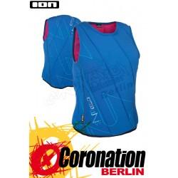 ION Lunis Vest Woman - Frauen Prallschutzweste Blue