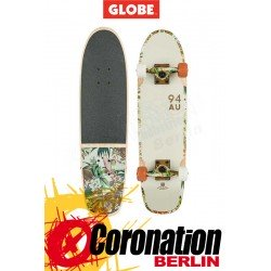 "GLOBE Bruiser 29"" Longboard Off White/Jungle complète"