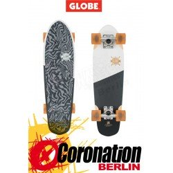 Globe Big Blazer Mini Longboard Cruiser Black white tailspin