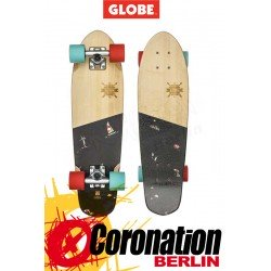 Globe Big Blazer Mini Longboard Cruiser Bamboo Mains