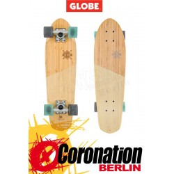 Globe Big Blazer Mini Longboard Cruiser Bamboo Almond