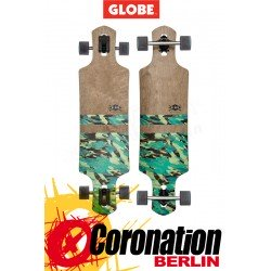 Globe Geminon Dark Maple/Watershed Longboard - Complete