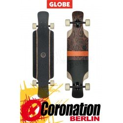 Globe Geminon Kick Burle Black Longboard