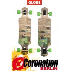 Globe Geminon Longboard Marble komplett
