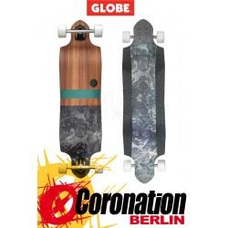 Globe Gemnion Micrdrop Rosewood/Black Longboard complete