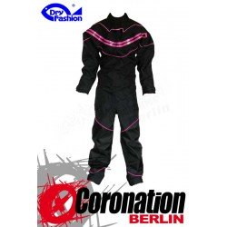 Dry Fashion Black Performance Trockenanzug Schwarz/Pink