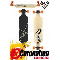 Flying roues Whip 39.5 Bamboo Longboard complète