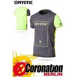 Mystic Block Quick Dry S/S T-Shirt Yellow