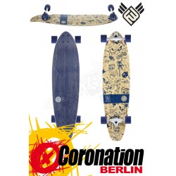 Flying roues Ink Is Drug 37 Bamboo longboard complète