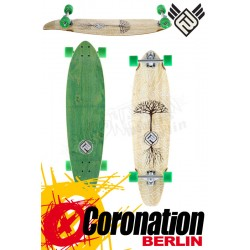 Flying roues Earthtree 37 Bamboo Longboard complète