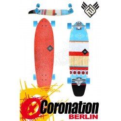 Flying roues Mohave 34 Bamboo Longboard complète