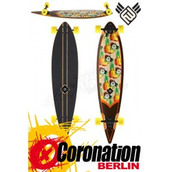 Flying Wheels Pinacolada 44.5 Longboard Komplett