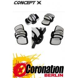 Concept-X Unites+ Kiteboard Pads + Schlaufen SET