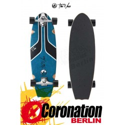 "The Wave FLOW 31"" WAVE SKATEBOARD Aqua"