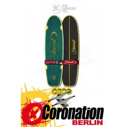 "Flying roues Stewart Regal 28"" Longboard Teal"