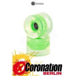 Prohibition Lumina Wheels 2er Pack Leuchtrollen Green 82A