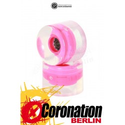 Prohibition Lumina Wheels 2er Pack Leuchtrollen Pink 82A
