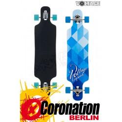 Voltage DT Blau/Weiß Longboard Komplett