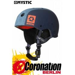 Mystic MK8 X Helmet Demin - Helmet with earpads Water