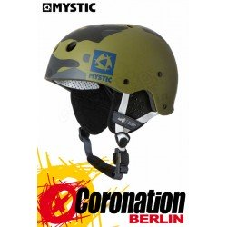 Mystic MK8 X Helm Camouflage - Helmet with earpads Water