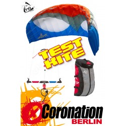 HQ APEX 4 TEST Kite 8m² Depowerkite complete with bar