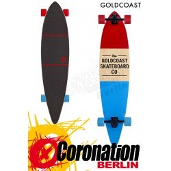 GoldCoast Standard Red-Blue Komplett Longboard