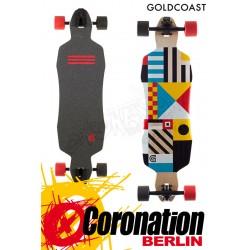 """GoldCoast Classic Field 36"""" komplett Longboard"""