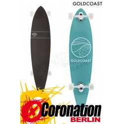 GoldCoast Classic Turquoise Pintail Komplett Longboard