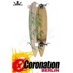 "Krown Longboard Komplett Exotic Pintail Bamboo Cruiser 46"""