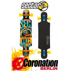 Sector 9 Sprocket 15 Longboard complète Orange