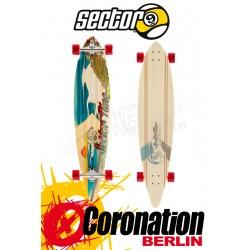 Sector 9 Madeira Longboard Komplett Assorted