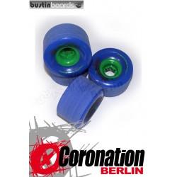 Bustin wheels Swift Freeride 70mm 78a wheels - Blue