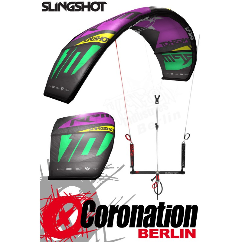 Slingshot RPM 2014 Kite 12m² - HARDCORE SALE