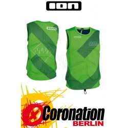 ION Collision Vest Prallschutzweste lime vert/navy