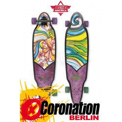 Dusters Longboard Flora Purple/Green Komplett