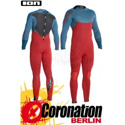 ION Strike Semidry 5,5/4,5 neopren suit 2016 Petrol/Red