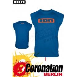 ION Wetshirt LOGO NoSleeve Turkish-Blue