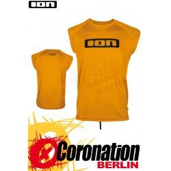 ION Wetshirt LOGO NoSleeve Saffron quickdry Watershirt