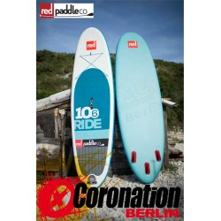 """Red Paddle Co Ride 10'6"""" inflatable SUP Board 2016"""