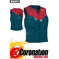 ION Vector Vest 2016 Prallschutzweste Emerald/Red