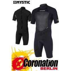Mystic Star 3/2 D/L Shorty Flatlock Black