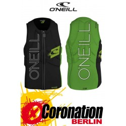 O'Neill Prallschutzweste Slasher Wake/Kite Vest Green