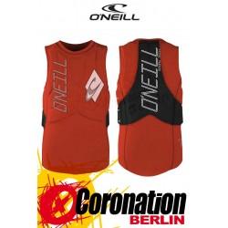 O'Neill Gooru Tech Wake/Kite Vest Prallschutzweste NEONRED/BLK