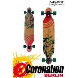 Paradise Bamboo Sun Drop Thru complète Longboard
