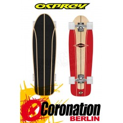 Osprey Drive In Red Cruiser Longboard