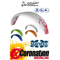HQ Matrixx II 15.0 Depower Softkite avec barre