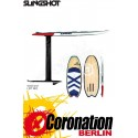 Slingshot NF² - Alien Air FX with Foil  Hydrofoil-Board