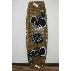 Carved Tantrum 4 Kiteboard Custom Wood X-Carbon 132x42 - Gebrauc